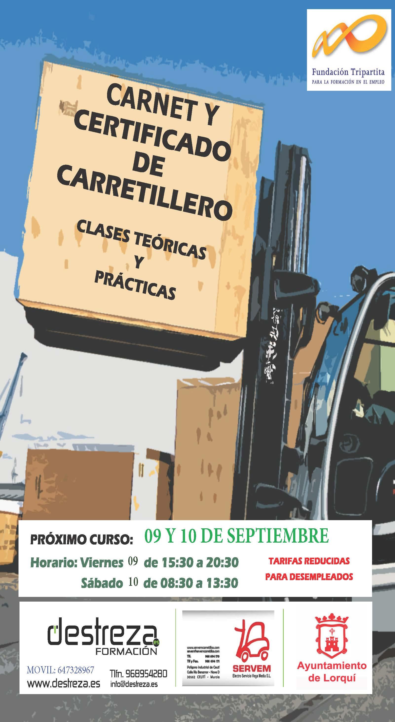 Cartel Carretillero