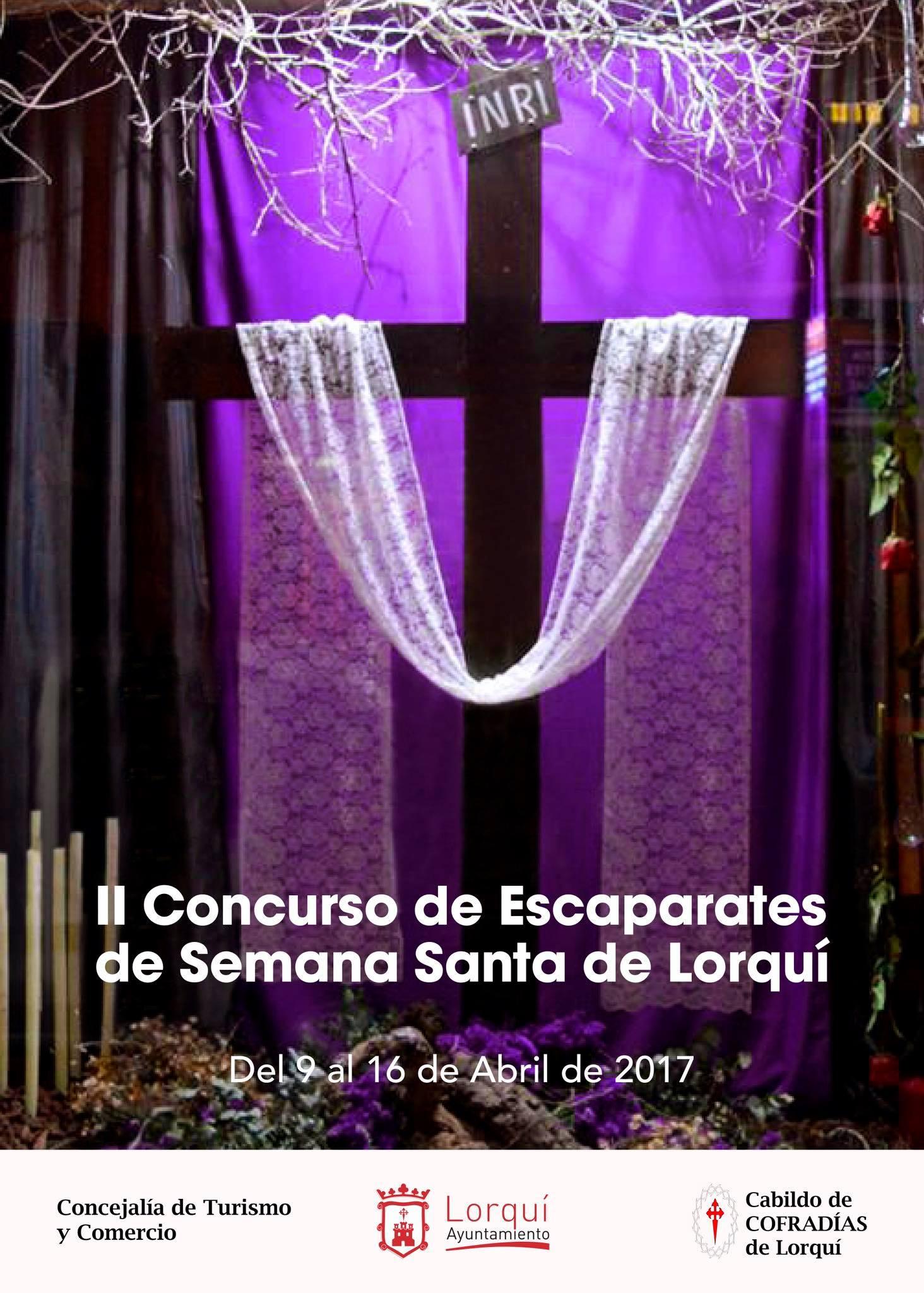 Cartel Escaparates Semana Santa