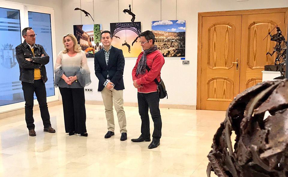 Exposición Esculturas Viajeras