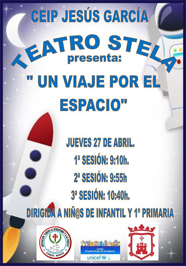 Teatro Stela Cartel Jesús García