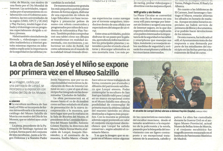San Jose y el Niño museo Salzillo