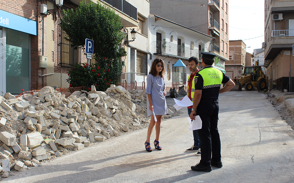 Obra Calle Mayor 2