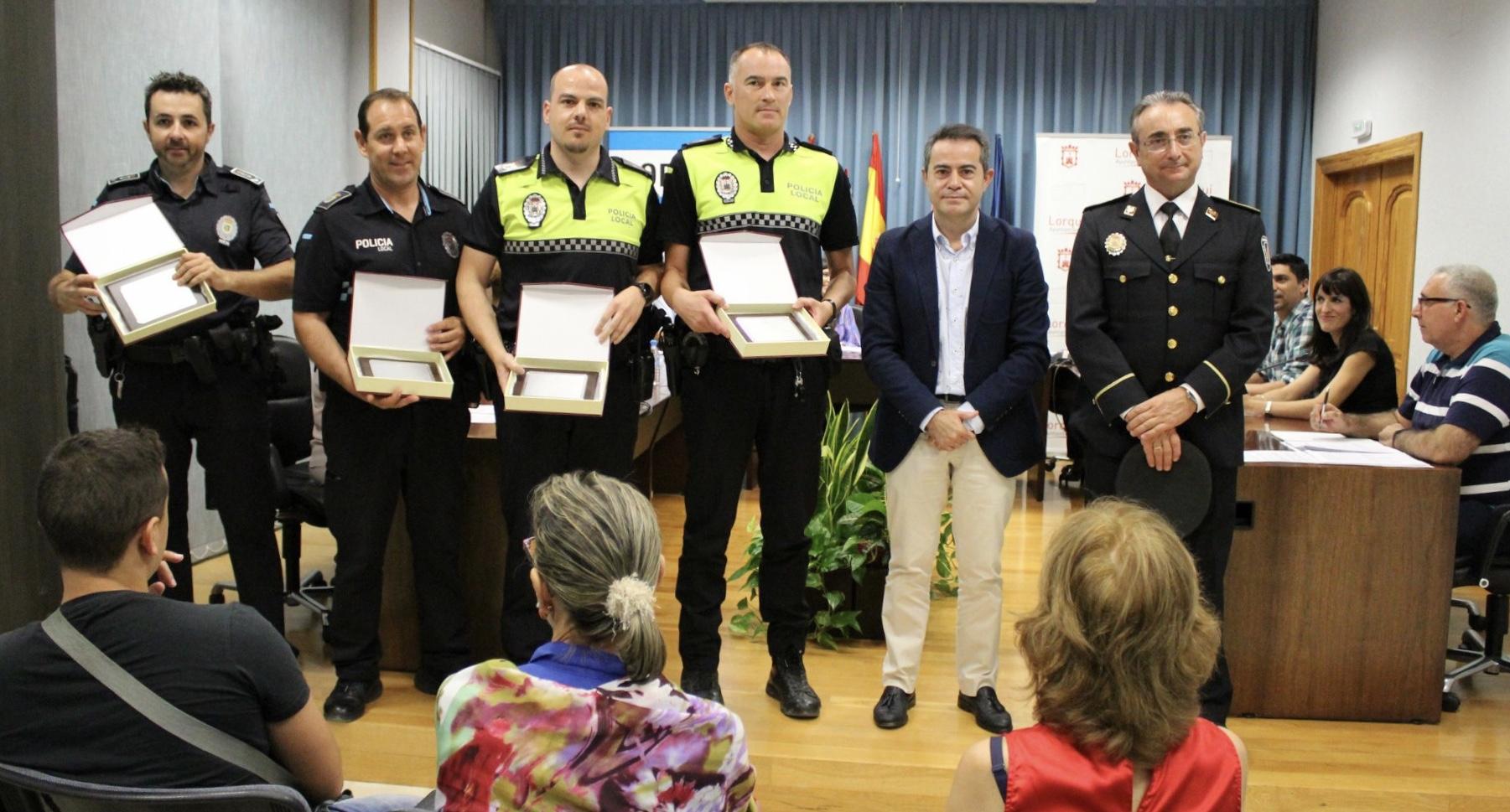 PLACA POLICÍAS LOCALES