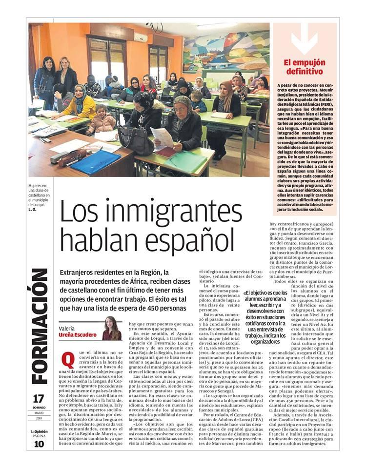 clases español extranjeros la opinión