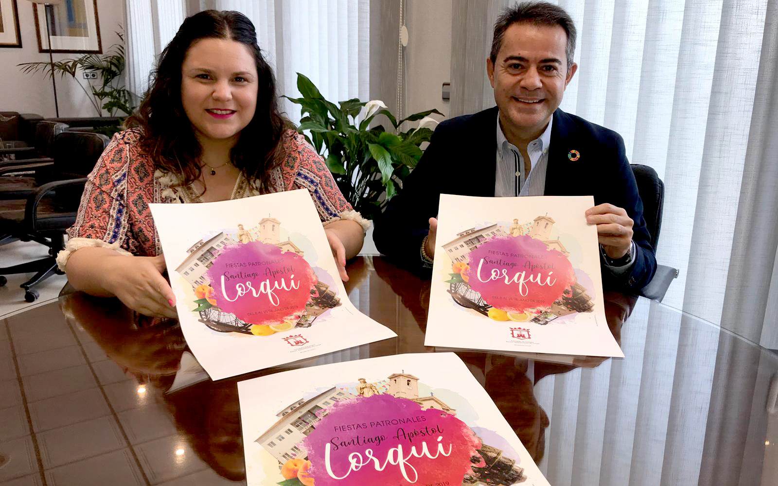 cartel fiestas lorquí 2019