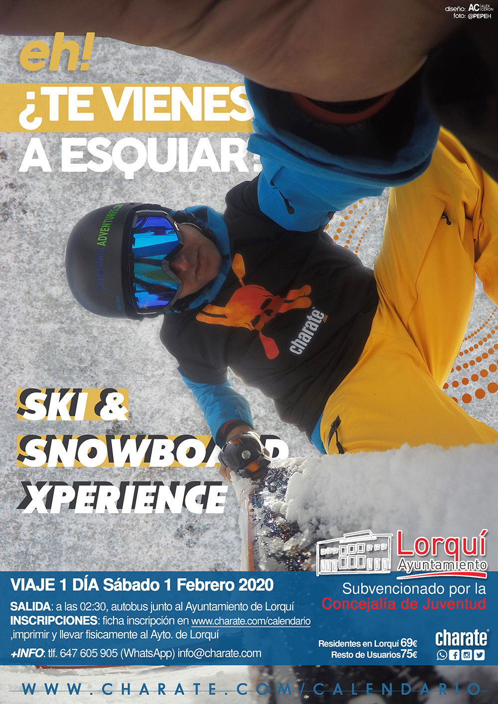 viaje ski charate